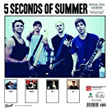 5 Seconds of Summer 2018 12 x 12 Inch Monthly