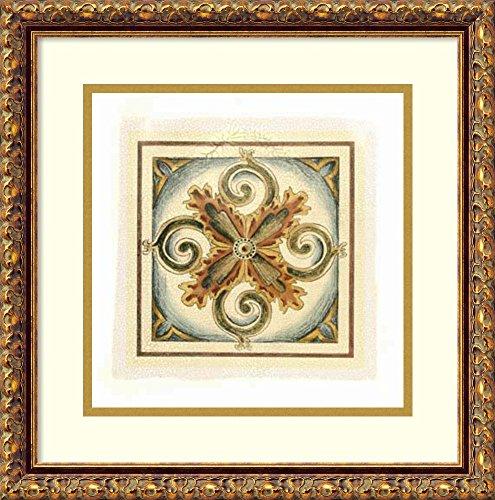 Crackled Cloisonne Tile - 1
