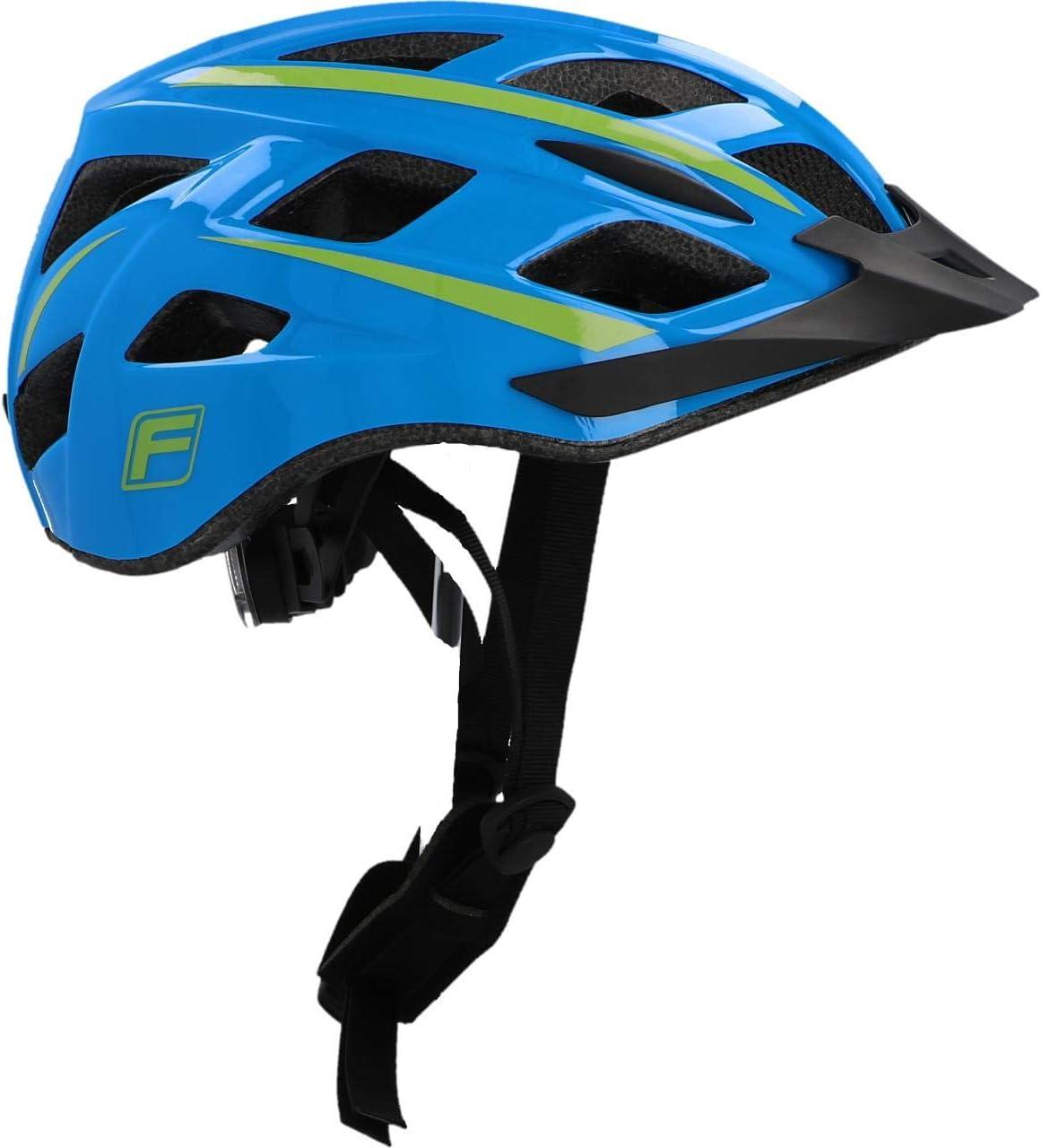 Small//Medium Fischer Fahrradhelm Casco de Bicicleta Azul