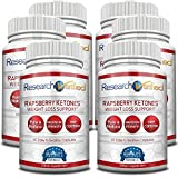 Research Verified Raspberry Ketones - 360 Capsules (Six Month Supply) - 100% Pure Natural Raspberry Ketones -1000mg/day- 365 Day 100% Money Back Guarantee-Try Risk Free for Fast and Easy Weight Loss