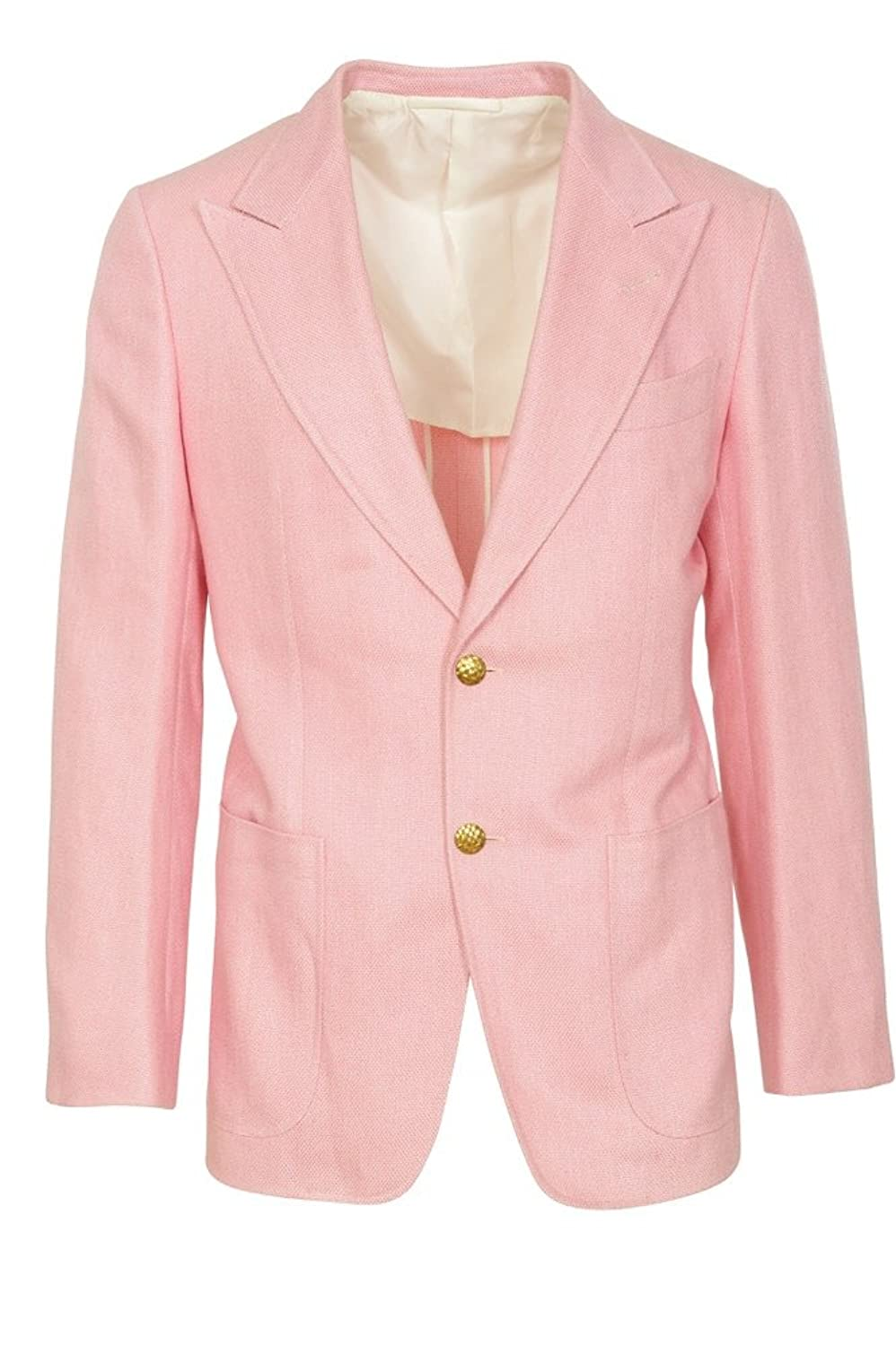 Tom Ford Blazer Mens Pink Only Blazer Rose 46R Regular Fit at Amazon Mens Clothing store: