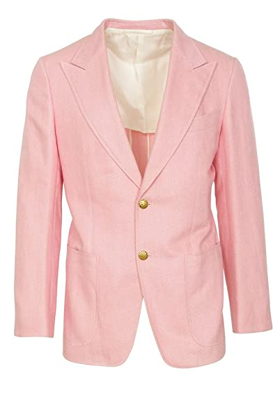 Tom Ford Blazer Mens Pink Only Blazer Rose 46R Regular Fit