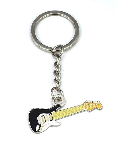 Gemelolandia Llavero Guitarra Electrica: Amazon.es: Joyería