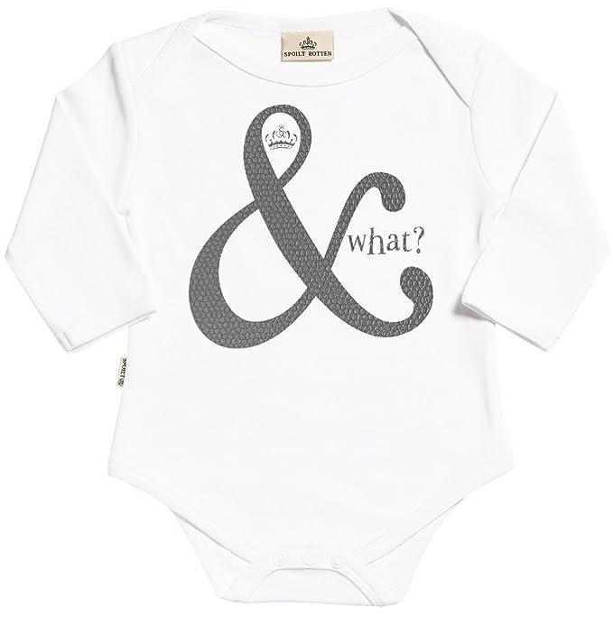 845f5e038 Amazon.com  SR - And What Long Sleeve Organic Baby Grow - Baby ...