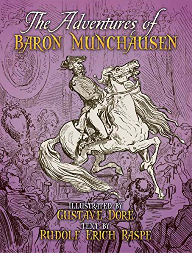 The Adventures of Baron Munchausen (Dover Fine Art, History of Art) (The Adventures Of The Baron Of Munchausen)
