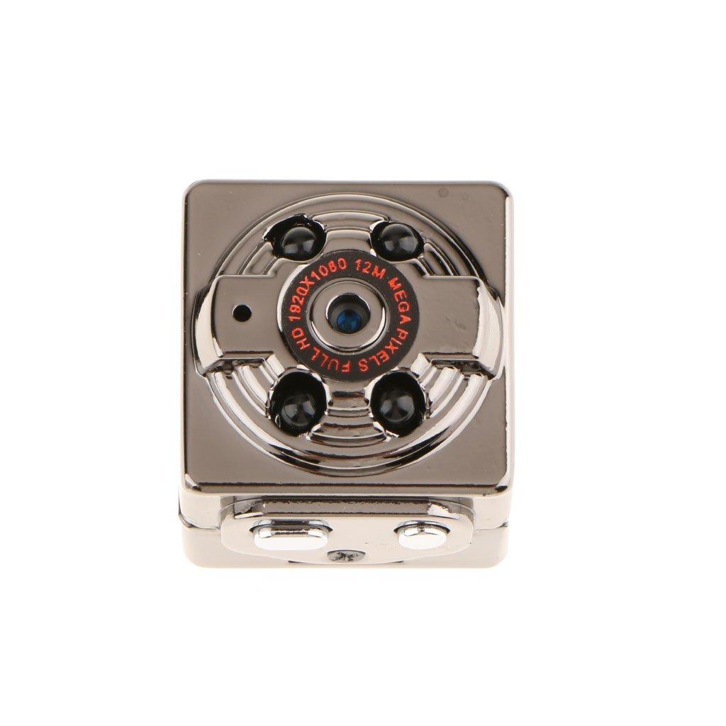Baoblaze 1080P SQ8 Night Vision Camera 3-5m Range Voice Video Recorder Comes with Adjustable Bracket Clip