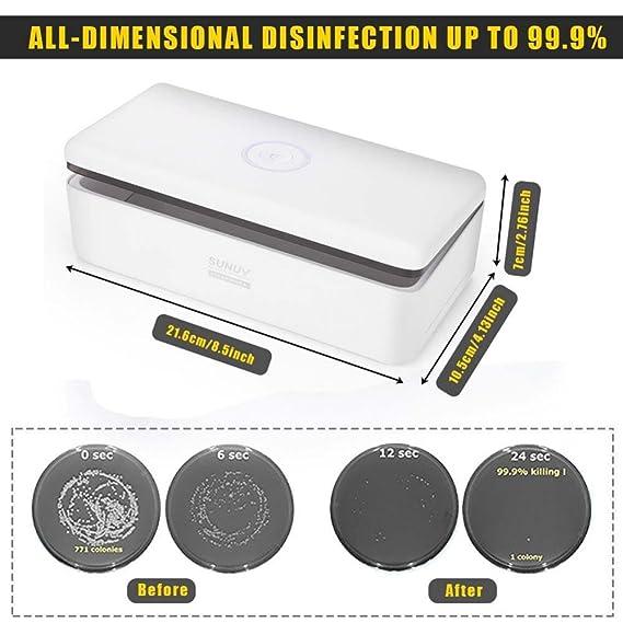Desinfeccion Maquina UV LED Caja limpieza herramientas de uñas manicura brochas de maquillaje tatuaje belleza peluquería tijeras cosmética tools de salón ...
