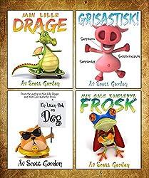 Fire Fantastiske Leggetid Historier for Barn 3-6 (Norwegian Edition)