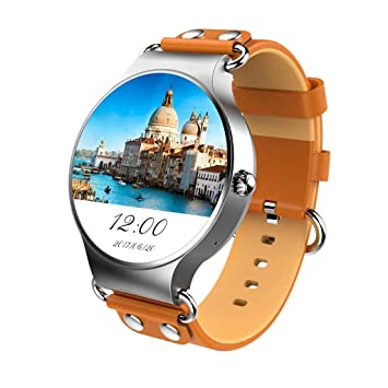 FFHJHJ Reloj Inteligente Bluetooth SmartWatch con Ranura ...