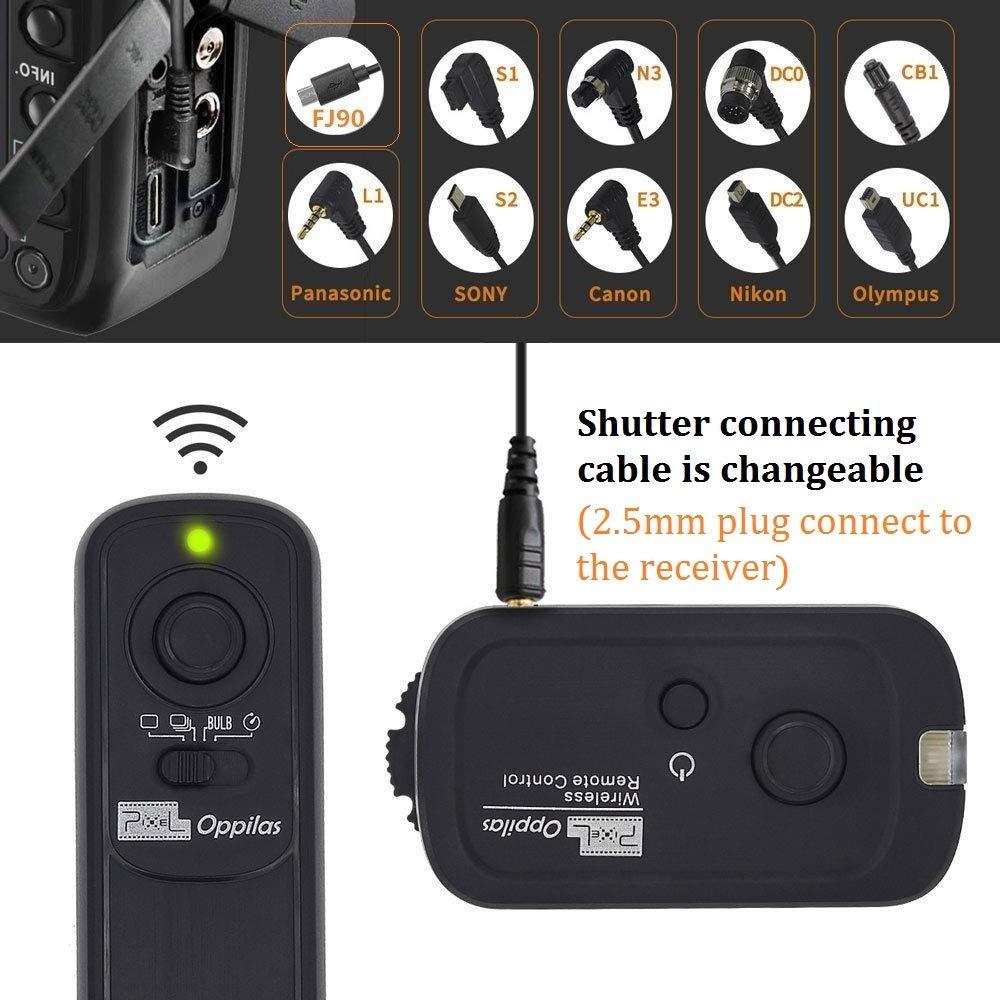 Pixel Wireless Shutter Remote Control RW//S1 for Sony A200 A300 A350 A400 A450 A500 A550 A560 A580 A700 A850 A900 A33 A35 A37 A55 A57 A65 A67 A77 A99 Konica Minolta DIMAGE A2 A1 DIMAGE-7Hi DIMAGE-7