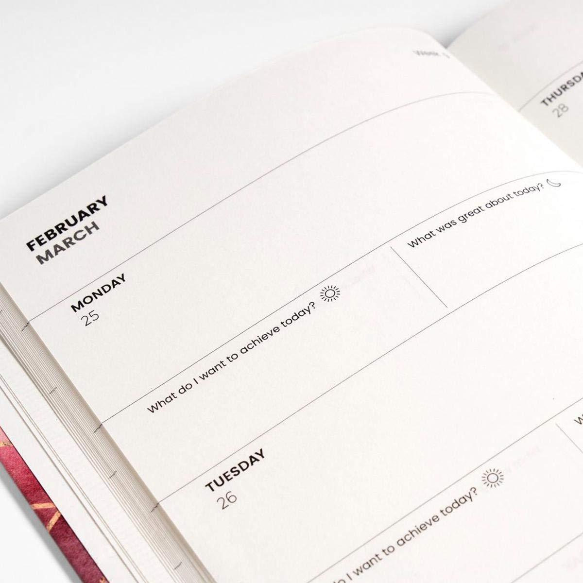 JUNIQE® 2019 Agenda - Alfabeto y letras - Negro & Blanco ...