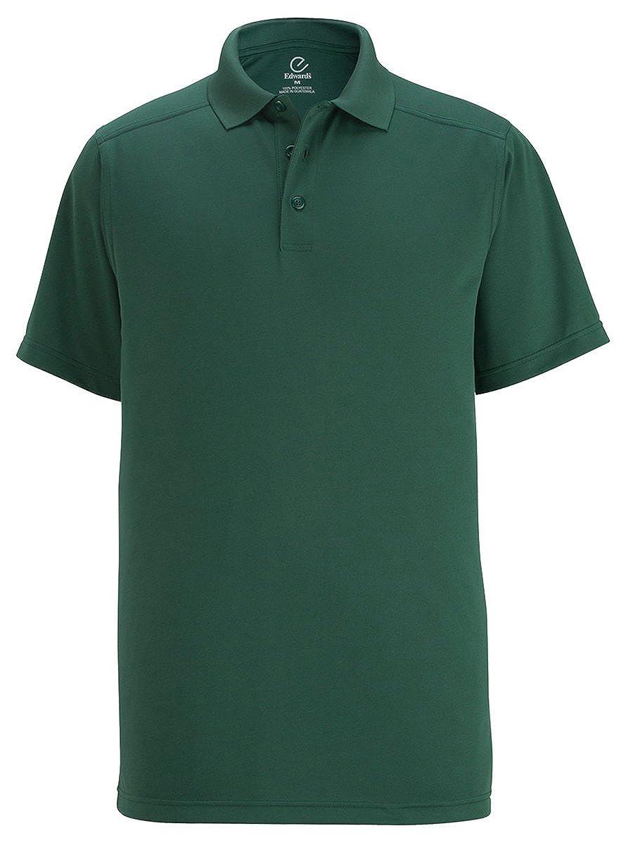 Edwards Garment ED Garments Mens Snag-Proof Short Sleeve Polo