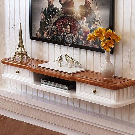 TV Rack Mueble para TV de Pared para Mueble de TV con Estante de ...