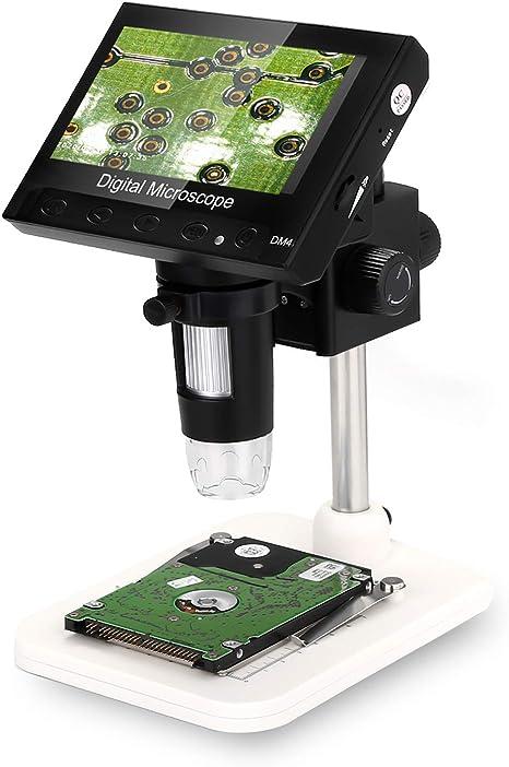 Lcd Digital Mikroskop Wadeo 4 3 Zoll 720p Hd 1000x Kamera