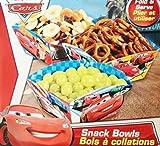 Disney & Pixar Cars Lightning Mcqueen 5.5'' X 6'' Fold & Serve Party Snack Bowls (6 Count)