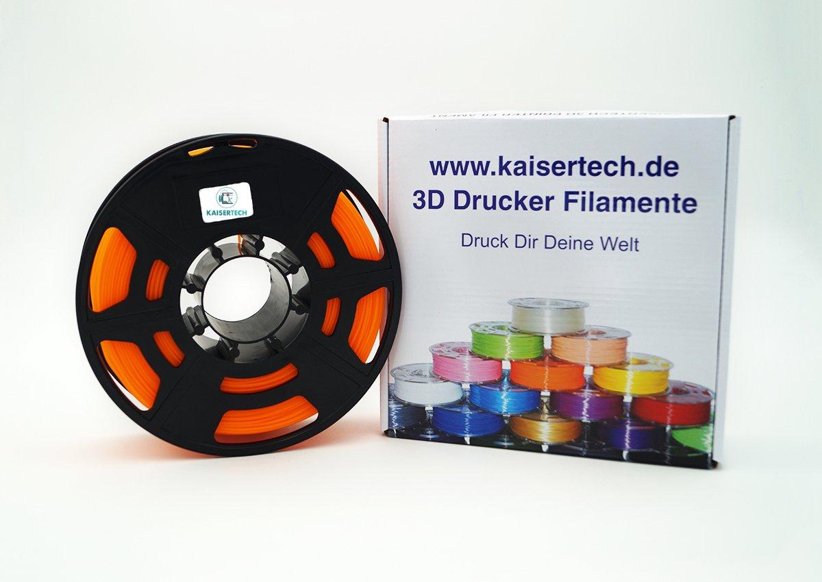 Kaiser Tech filamento para impresora 3d 1 kg PLA 3.00 mm naranja ...