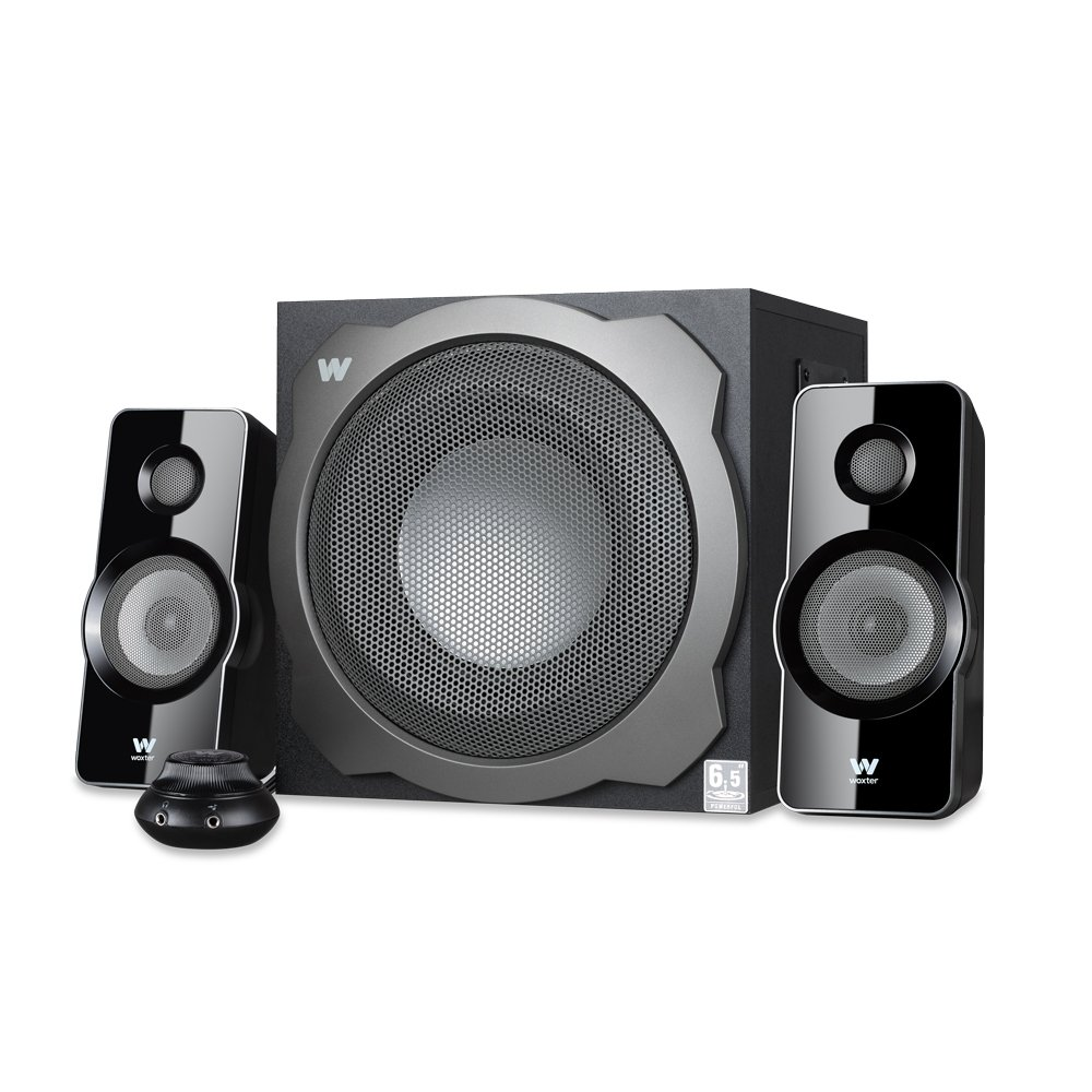 Woxter Big Bass 260 - Altavoces multimedia (2.1, potencia 150W, 90-20000 Hz), color negro SO26-026