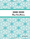 2018 - 2020 Geometric Design Three Year Planner