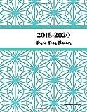2018 - 2020 Geometric Design Three Year Planner: 2018-2020 Monthly Schedule Organizer - Agenda Planner for the Next Three Years/36 months calendar ? ... (3 year Diary/3 year Calendar/Logbook)