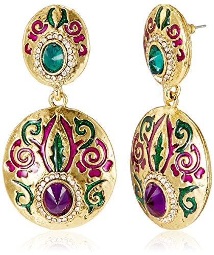Aheli Drop Earrings for Women (Multi-Colour) (A1EJP115)