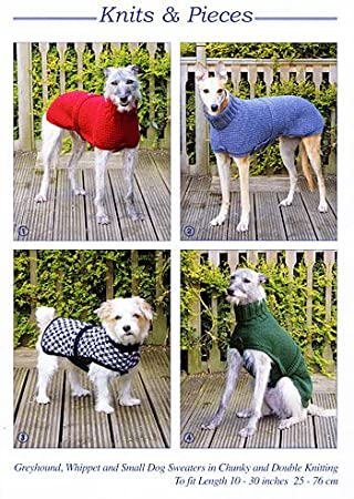 Amazon.com: Knits & Pieces Knitting Pattern : Whippet, Greyhound and ...