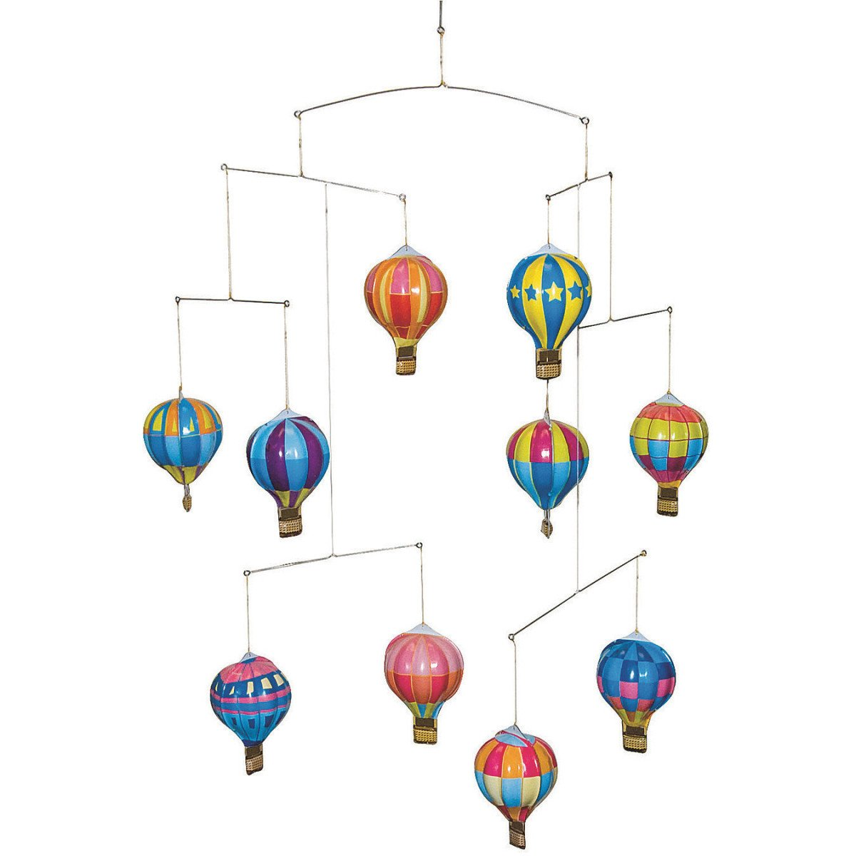 Schylling Tin Hot Air Balloon Mobile Toy HABM
