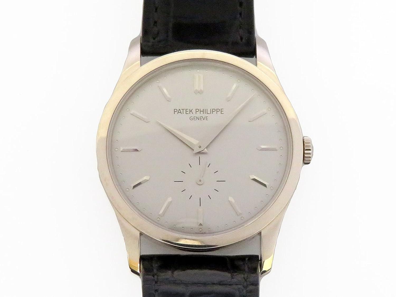 パテック フィリップ PATEK PHILIPPE カラトラバ 5196G-001 シルバー文字盤 メンズ 腕時計 【中古】 B0784N218Y