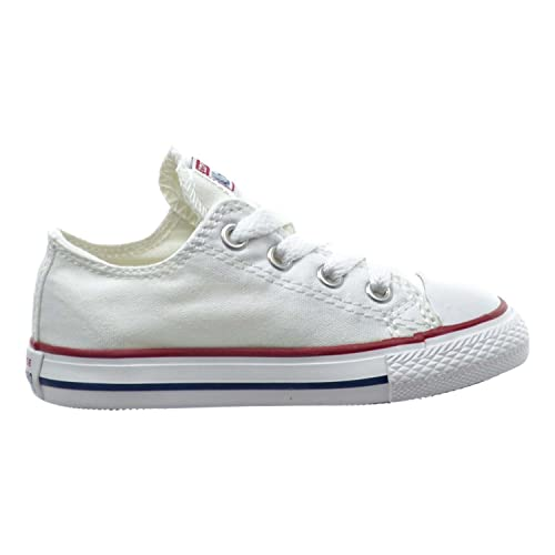 Converse Chuck Taylor All Star OX Toddler Shoes Optical White 7j256 (2 M US) e2e7dce5c