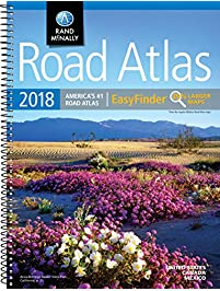 Amazoncom Atlases Maps Books Travel Maps Atlases - Us atlas road map