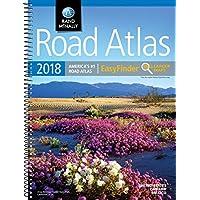 2018 Rand McNally EasyFinder® Midsize Road Atlas