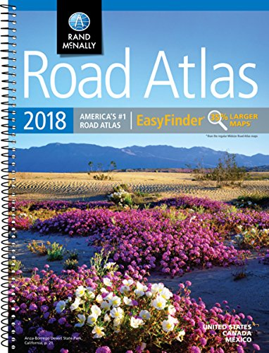 2018 Rand McNally EasyFinder® Midsize Road Atlas (Rand McNally EasyFinder Road Atlas)