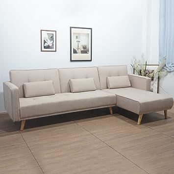 ALTERDJ: sofá Longue Multifuncional, a la Moda, Plegable ...