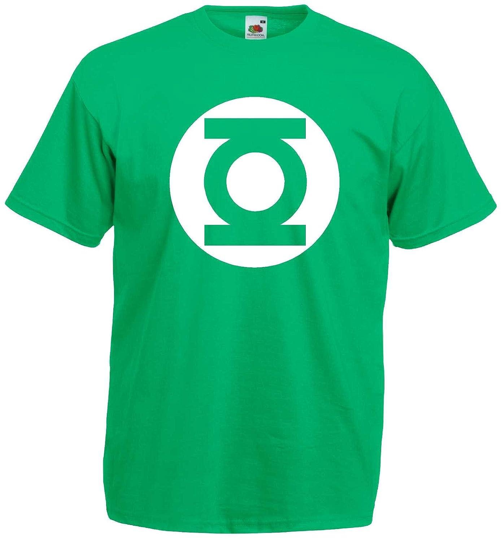 Big Bang Theory Green Lantern T-Shirt S-XXL Fruit of the Loom