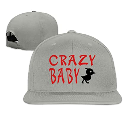 Amazon.com  Baby Flat Brim Baseball Hat  Sports   Outdoors 2cf5a577efc