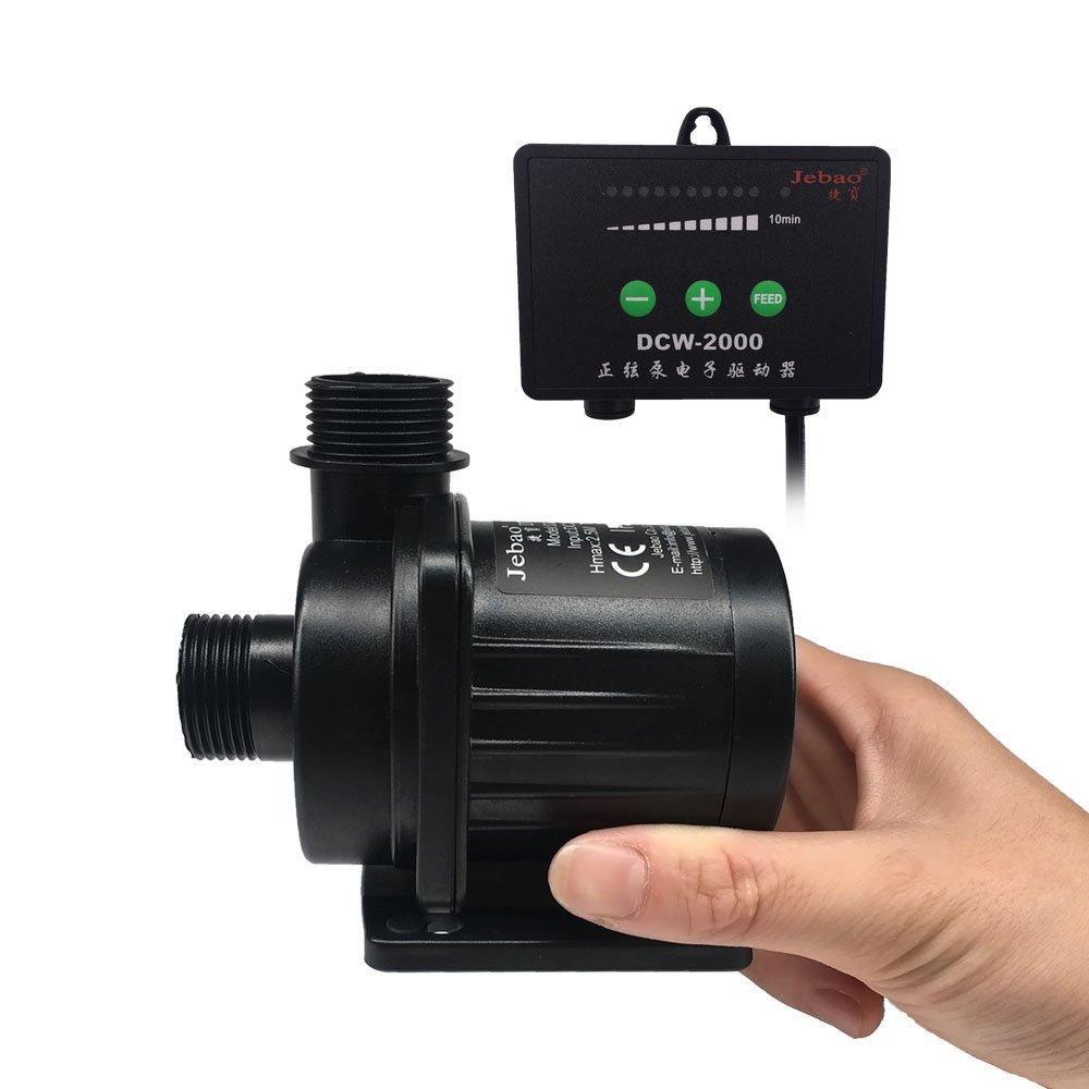 JEBAO DCW-2000 dc pump with sine Controller ,528GPH,20W