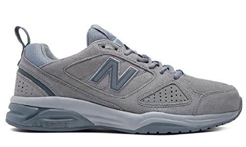 3cd821ab535 New Balance Men's 624 Fitness Shoes, Grey (Gunmetal Gr4), 9.5 (44 EU ...