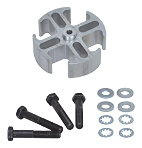 "Flex-a-lite 14548 Mill Finish 1"" Fan Spacer Kit"