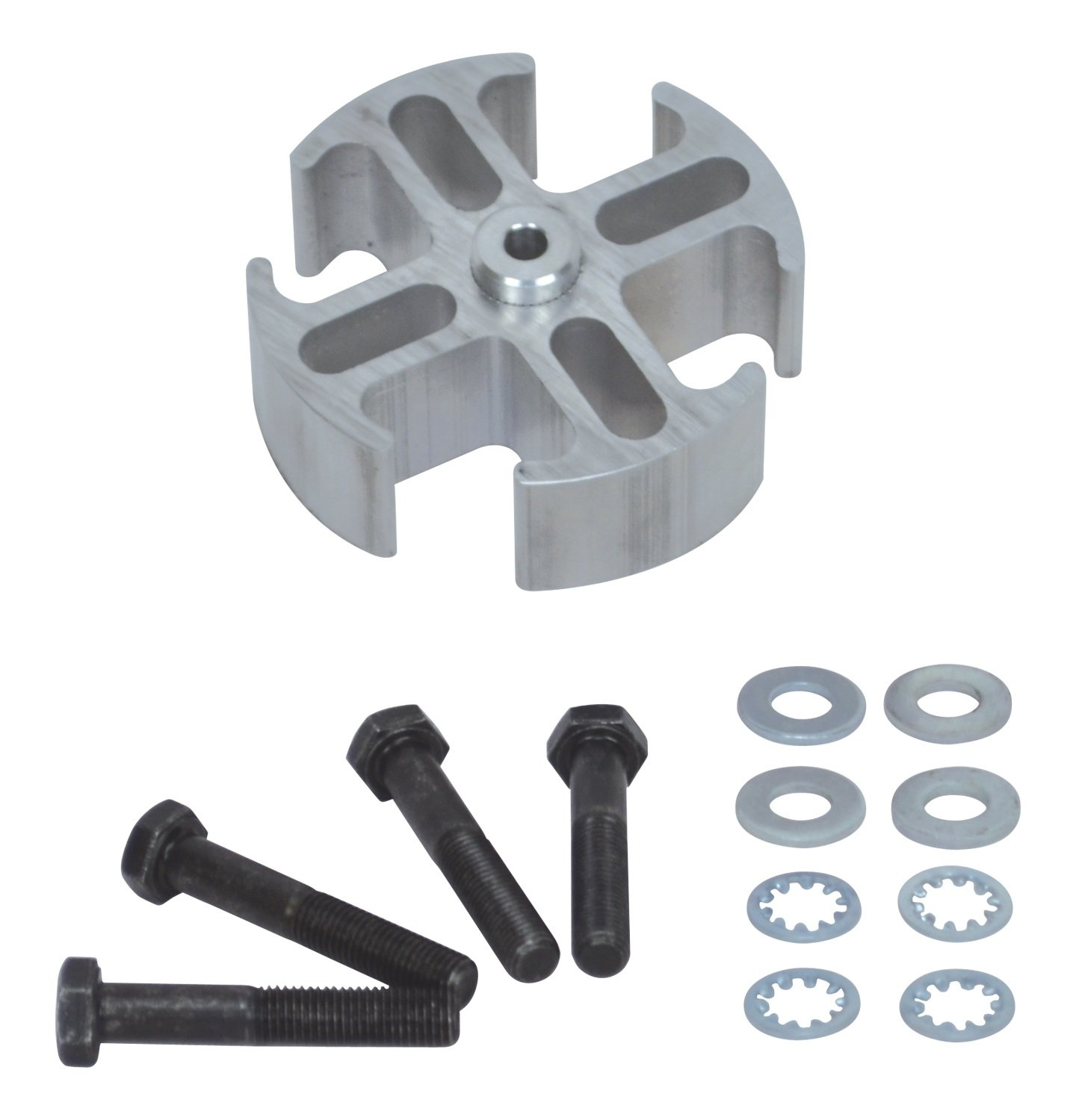 Flex-a-lite 14548 Mill Finish 1'' Fan Spacer Kit by Flex-a-lite