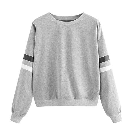 Damen langarm Pullover dünn Größe 44 46 48 50 52 Übergröße Sweatshirt Sweater