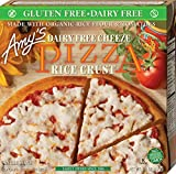 Amy's Gluten Free Pizza, Dairy Free Cheeze, 6 Ounce (Frozen)