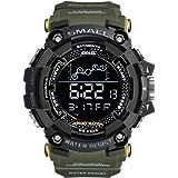 Men's Sports Watch, Big Dial Digital Watch...