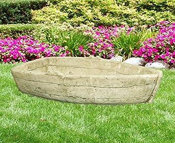 Bateau Pot Vase En Pierre Et Jardiniere Pour Decoration De