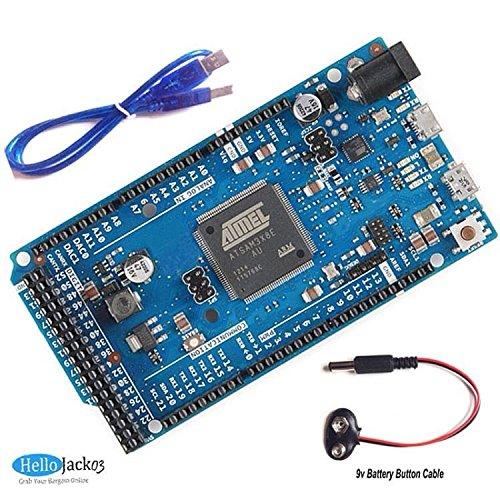 DUE R3 Board 2012 SAM3X8E 32-Bit ARM Cortex-M3 for Arduino by Aigh Auality shop