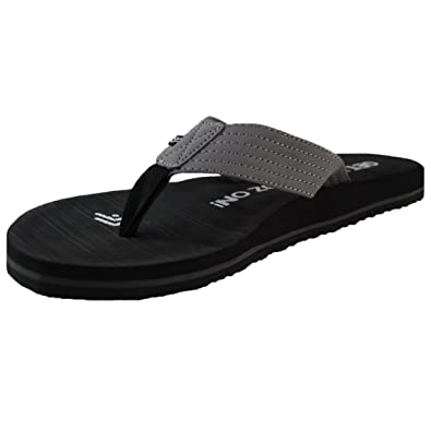7c14ec39f12003 Dry Dudz Mens Youth Boardwalk Flip Flop-Black (Small SZ 6.5-7.5