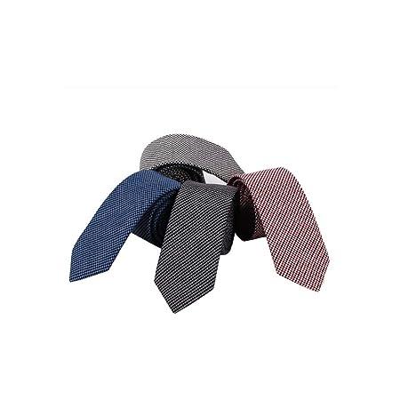 JTQMDD Corbata De Algodón 6,5 Cm Versión Estrecha Moda Masculina ...