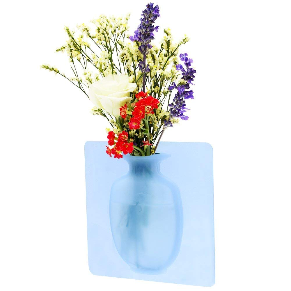 Flower Vase Small Decoration Vase Party Exhibition Haoyajia Removable Silicone Vases Wedding Festival 1 pic Home Kitchen Decoration