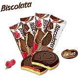BISCOLATA巧克力酱/树莓酱蛋糕巧克力25g*24(口味随机)
