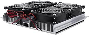12V 240W Thermoelectric Cooler Peltier Semiconductor Refrigeration Cooling System Cold Plate Cooler with Fan