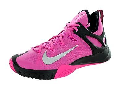 fb171acb1f5b Nike Mens Zoom Hyperrev 2015 Pnkfr I Mtllc Slvr Hypr Pnk Bl Basketball