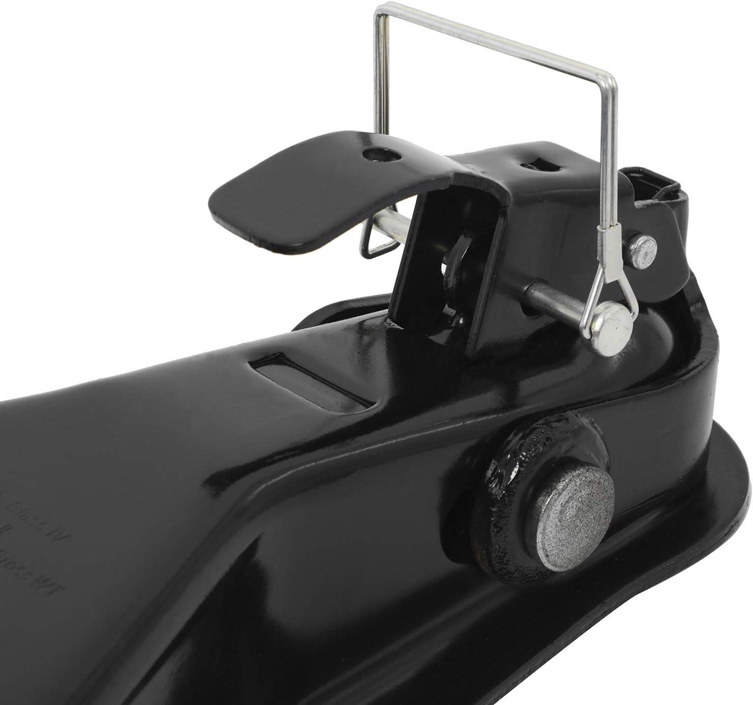 NovelBee 2 Ball Class IV A-Frame Trailer Coupler with Yoke Latch,8000LBS Capacity